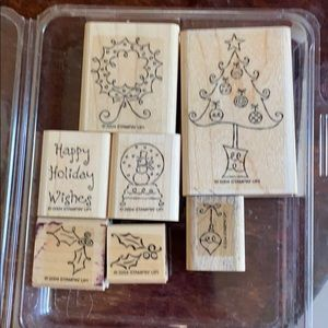 "2004 Stampin' Up ""All Decked Out"" stamp set"